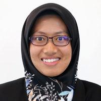 Vision College lecturer - Afrina
