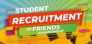 Vision College's Students Recruitment of Friends Championship